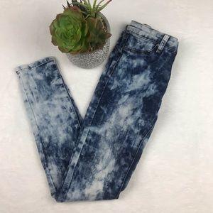 Joes Girls Acid Wash Jeans Sz 14 Youth Skinny